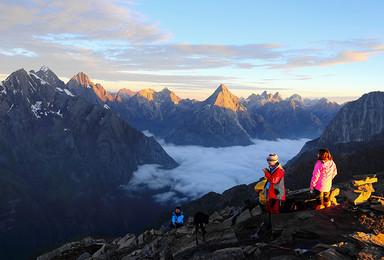 四姑娘山大峰 初级雪山攀登 用脚步丈量世界(3日行程)