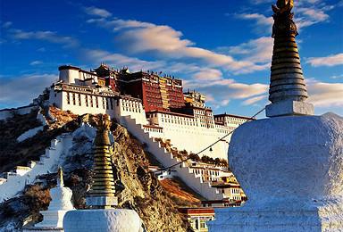 西藏全景 一次旅行遍游西藏各精华景点(9日行程)