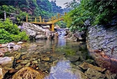 天津北极 梨木台 封存千年山水画 登天道 观瀑布(1日行程)