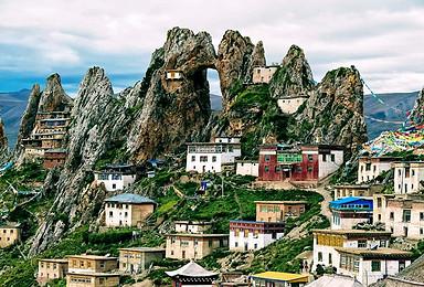 2018年川藏北线317国道深度藏地人文 天空之城孜珠寺(9日行程)