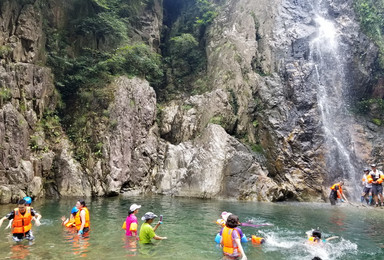 8月18日余姚黑龙三潭溯溪 一日游(1日行程)