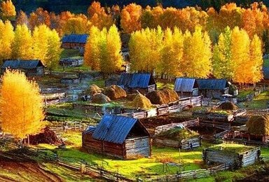 新疆乌尔禾魔鬼城喀纳斯禾木五彩滩可可托海大峡谷秋季摄影创作团(10日行程)