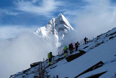 云海之上 雪山巅峰梦的开始 四姑娘山 二峰 登山计划(3日行程)