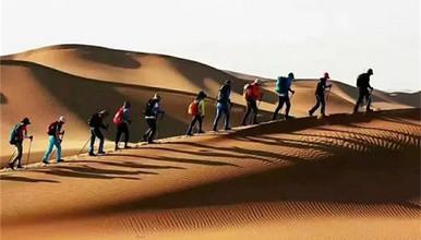 腾格里沙漠 五湖连穿 徒步活动 感受荒芜的美(4日行程)