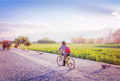 滇西全景 昆明大理双廊 洱海骑行 香格里拉 丽江古城 泸沽湖(7日行程)