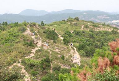 国庆 小虐线 苏州徒步经典线路 穿越灵树线 初级驴友毕业线(1日行程)
