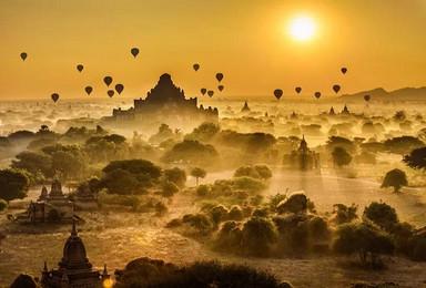 缅甸 曼德勒 蒲甘 茵莱湖缅甸8日旅行深度摄影(8日行程)