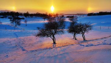 乌兰布统冬季摄影 塞罕坝 乌兰布统 古北水镇 司马台长城(6日行程)