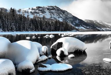 越野探险 走进金山原始森林 冬季喀纳斯极限越野(7日行程)