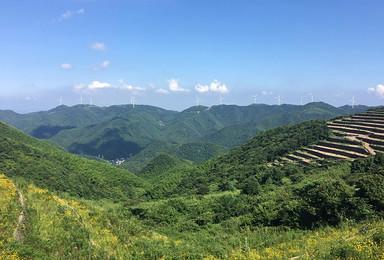 国庆10月5日宁波菩提岭古道 风车公路(1日行程)