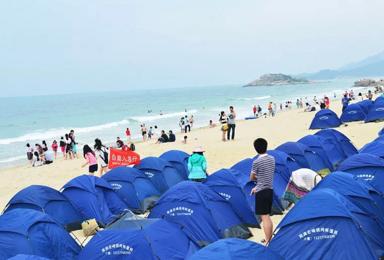 双月湾沙滩露营 赏醉美日出日落(2日行程)