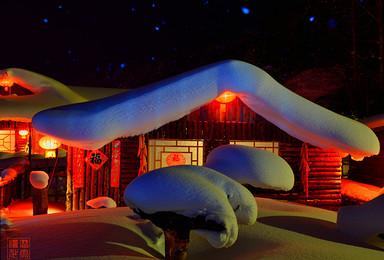 俄式风情伏尔加庄园 亚布力激情滑雪 雪乡穿越 镜泊湖冰瀑(6日行程)