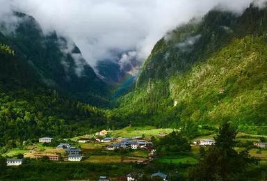 经典徒步 云南梅里雪山雨崩徒步转山(6日行程)