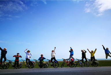 环青海湖骑行4加2相约青海湖 茶卡盐湖 领队后勤车护航自由行(5日行程)