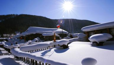 亚布力滑雪风轮雪山徒步雪乡长白山魔界雾凇岛查干湖冬捕(8日行程)