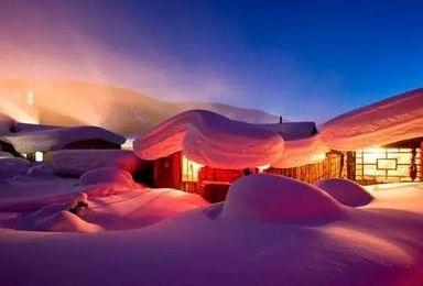 亚布力滑雪风轮雪山徒步雪乡镜泊湖冬捕东北虎林园(5日行程)