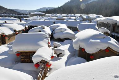 穿越雪乡 冬捕 双次滑雪 长白山 雾凇岛赏雪 探索雪域秘境(7日行程)