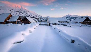 冰雪喀纳斯 滑雪  新疆 禾木 将军山 越野车深度纯玩(7日行程)