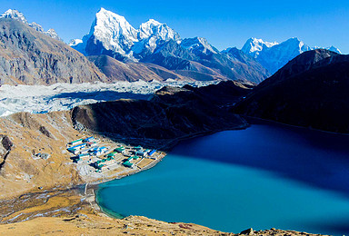 尼泊尔 三垭口 Gokyo 珠峰南坡大本营EBC(17日行程)