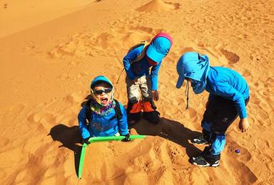 元旦沙漠亲子探险营 2019年第一场父母与孩子的奇幻探险(5日行程)