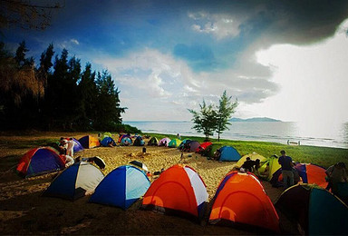 三亚海滨露营 观海听潮看星星 体验不一样的有趣旅途(2日行程)