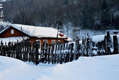 雪乡二浪河风景区大雪谷穿越亚布力滑雪 原始虎峰岭精华5天游(5日行程)