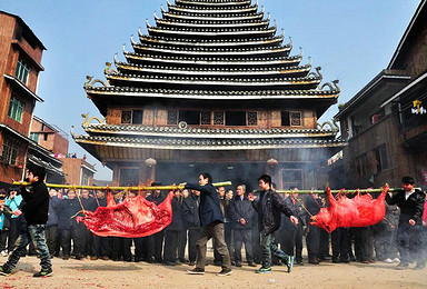春节三江侗族民俗风情 桂林漓江风光摄影创作团(4日行程)