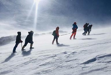 哈巴雪山攀登计划 一对一向导 每天发团 一人发团 多人可定制(4日行程)