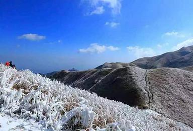 冬季恋歌 1月12日   冰雪武功山(2日行程)