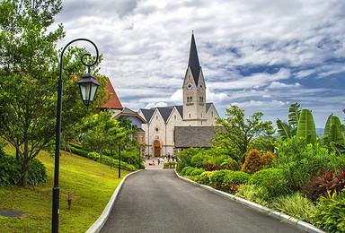 奥地利童话   惠州哈斯塔特村 摄影 散心 惠州红花湖骑行(1日行程)