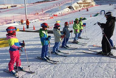 活力寒假 滑雪冬令营火热报名(4日行程)