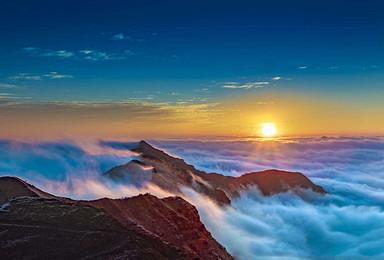 多情轿顶山 北可俯瞰峨眉 南可观贡嘎雪峰 观云海 赏日出(2日行程)