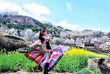 秘境川西 藏花带香丹巴梨花 甲居藏寨 四姑娘山之旅(3日行程)