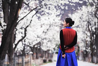 佛国寻花  听烟花三月梨花开落的声音 在色达街头虔诚朝拜(7日行程)