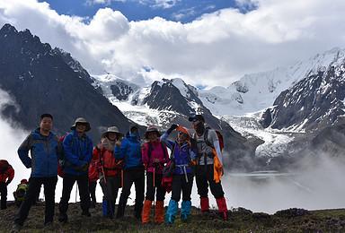 2019贡嘎山全线穿越7日挑战极限之旅 贡嘎山完美穿越线路(7日行程)