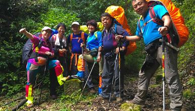 2019年哀牢山 徒步穿越 原始森林(7日行程)