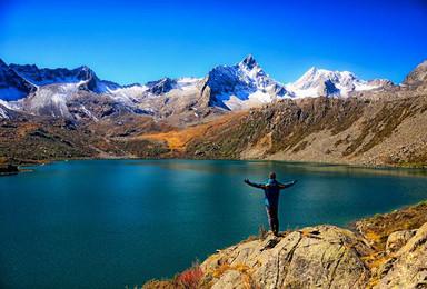横断秘地 众神家园雅拉雪山 党岭葫芦海徒步穿越之旅(8日行程)