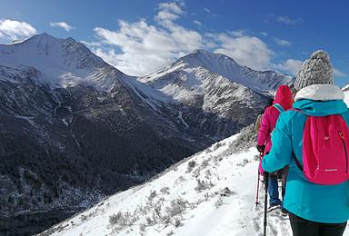 四姑娘山 海子沟 二峰 挑战你人生的第一座5000 雪山(6日行程)