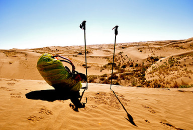 秘境阿拉善 走进腾格里沙漠集中营 划出自己生命的轨迹(3日行程)