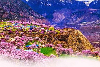 西藏之行 雅江畔 拉萨 羊卓雍措 林芝桃花 巴松措 波密(9日行程)