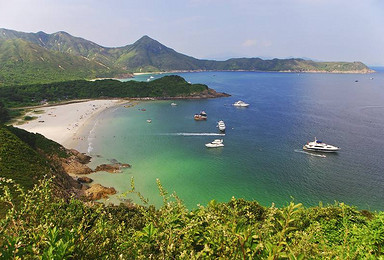 香港塔门岛 环岛游 地质公园 麦理浩径精华1 2段徒步 露营(2日行程)