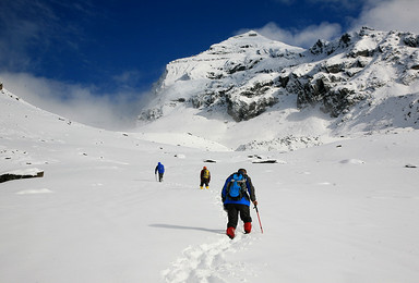 雪山穿越 四姑娘山大峰 长坪沟穿越毕棚沟 7日行程(7日行程)
