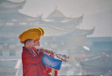 九色甘南B线青海湖茶卡盐湖色达年宝玉则九色甘南世外桃源扎尕那(9日行程)