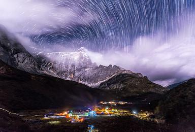 神山之镜亚丁大转山 不一样的洛克线徒步80公里环亚丁三神山(10日行程)