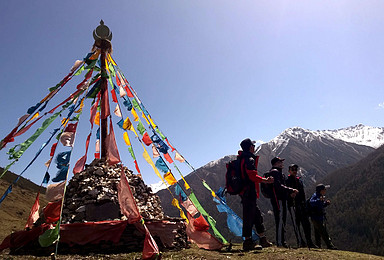四姑娘山二峰5276米攀登计划 人生第一座初级雪山(4日行程)