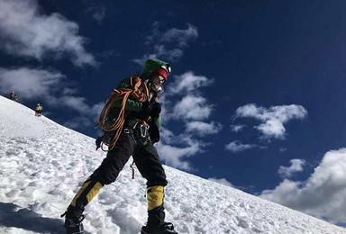2019年雪山攀登 贡嘎山 那玛峰5588米攀登计划(6日行程)