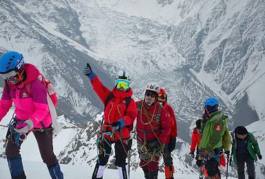 全年计划踏寻雪山梦贡嘎山卫峰之一5588米那玛峰攀登(6日行程)