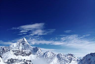 端午 来一次奋不顾身的雪山之旅 四姑娘山二峰(4日行程)