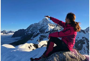 四姑娘山大峰攀登 挑战人生第一座5000米雪山(3日行程)