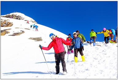 雪山攀登 四姑娘山二峰攀登 大海子露营(5日行程)